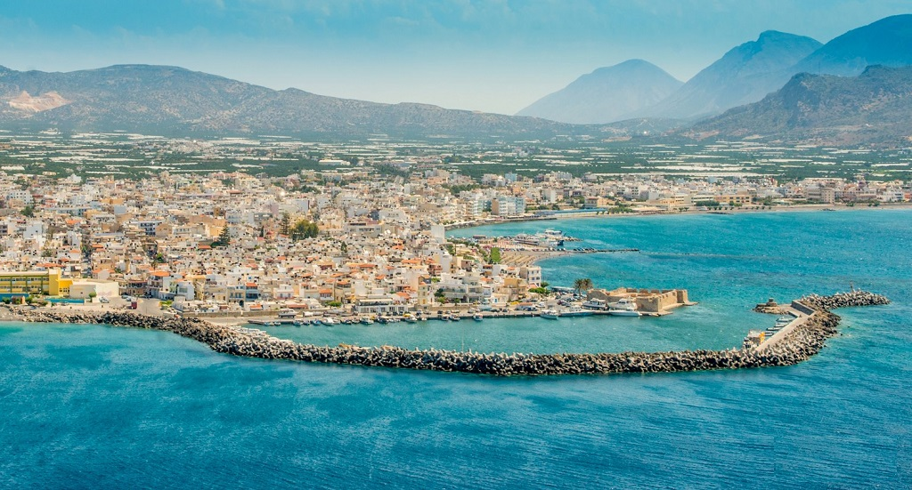 The town of Ierapetra image
